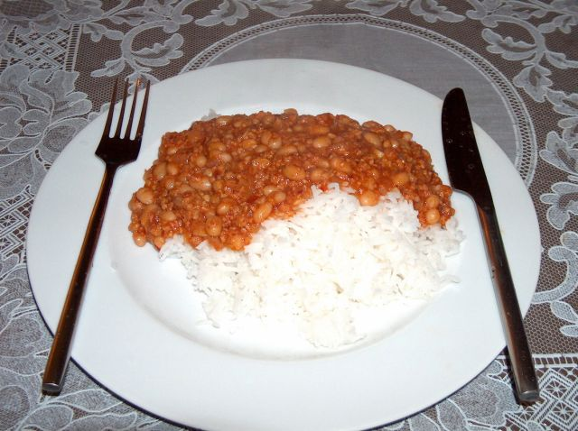 Mexican_Chilli_Mince with Rice